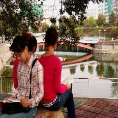 华中师范大学风景